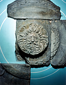 Roman carving of the Ancient British goddess Sul
