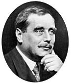HG Wells, English novelist, writer and popular historian