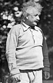Albert Einstein, mathematician and theoretical physicist