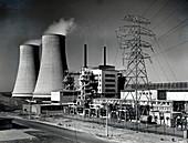 Calder Hall nuclear power station, Cumbria