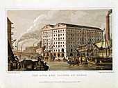 The Aire and Calder Navigation, Leeds, Yorkshire, 1828