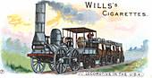 Stourbridge Lion', steam locomotive, c1830