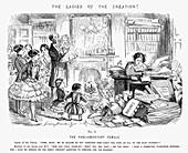 The Parliamentary Female', 1850
