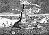 The Pharos of Alexandria, 18th century
