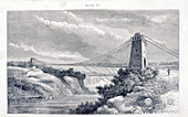 Falls View Suspension Bridge, Niagara, North America