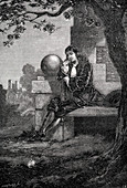 Isaac Newton, English scientist and mathematician