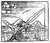 Gunner firing a cannon, 1561
