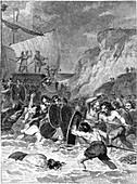 Roman invasion of Britain, 55-54 BC