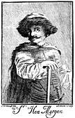 Henry Morgan, 17th century Welsh pirate, 1741