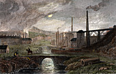 Nant-y-Glow Iron Works, Monmouthshire, Wales, c1780
