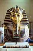 Funerary mask of Tutankhamun, King of Egypt