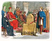 Harold II, last Anglo-Saxon king of England, c1064