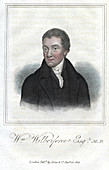 William Wilberforce, English anti-slavery campaigner, 1821