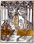 Pythagoras, Greek mathematician, 1508