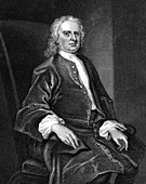 Isaac Newton, English mathematician and physicist
