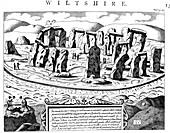 Stonehenge, Wiltshire, 18th century