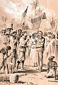 Dr Livingstone, I presume?, 10 November 1871