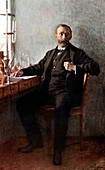 Alfred Nobel, Swedish chemist and inventor