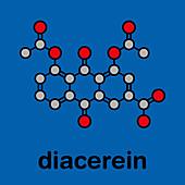 Diacerein drug molecule