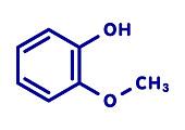 Guaiacol aromatic molecule