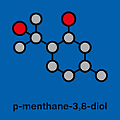 PMD insect repellent molecule