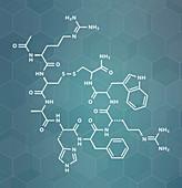 Setmelanotide drug molecule