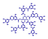 Tannic acid molecule