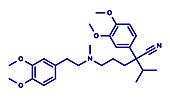Verapamil calcium channel blocker drug