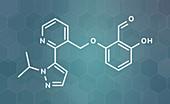 Voxelotor sickle cell disease drug molecule
