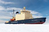 Icebreaker Kapitan Khlebnikov