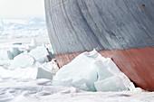 Icebreaker in the Antarctic