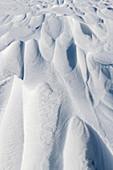 Snow on Antarctic sea ice