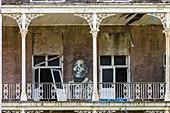 School abandoned due to Hurricane Katrina