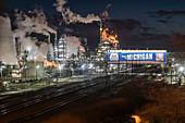 Marathon Petroleum refinery, Michigan, USA