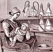 Artificial breastfeeding, 19th century
