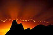 Crepuscular rays