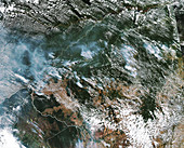 Amazon fires from space, August 2019