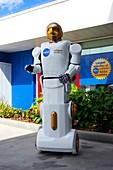 NASA robot mock-up at KSC