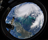 Hurricane Dorian from the International Space Station