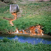 Land and water pollution.