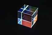Optical glass cube