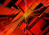 Abstract geometric pattern, illustration