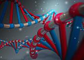 Double helix, illustration