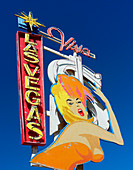 Las Vegas sign, illustration