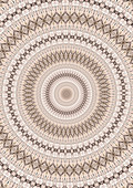 Neutral concentric pattern, illustration