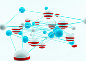 Connections, conceptual illustration