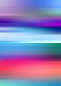 Abstract blurred colourful shapes, illustration