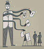 Multitasking, illustration