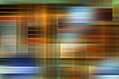 Abstract pattern of crisscrossing stripes, illustration
