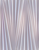 Abstract grey folded, pleated fabric, illustration